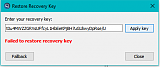 Click image for larger version.  Name:recoverykey minus a symbol.png Views:443 Size:5.8 KB ID:16991